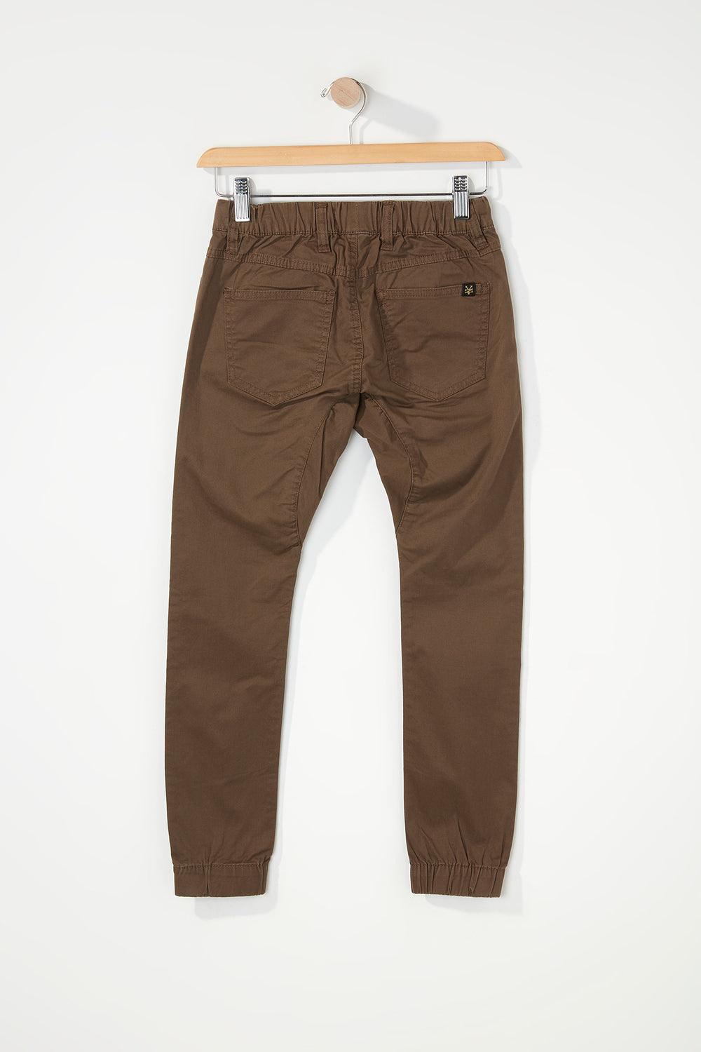 Zoo York Boys 5-Pocket Jogger Brown