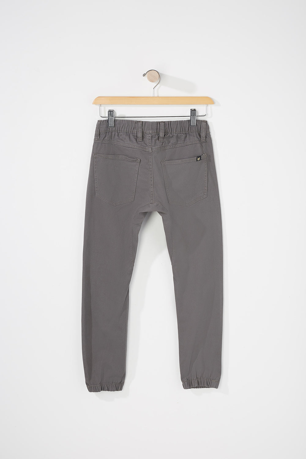 Zoo York Boys 5-Pocket Jogger Heather Grey