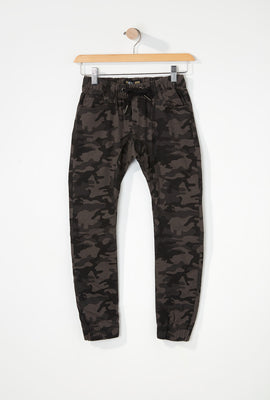 Zoo York Boys 5-Pocket Camo Jogger