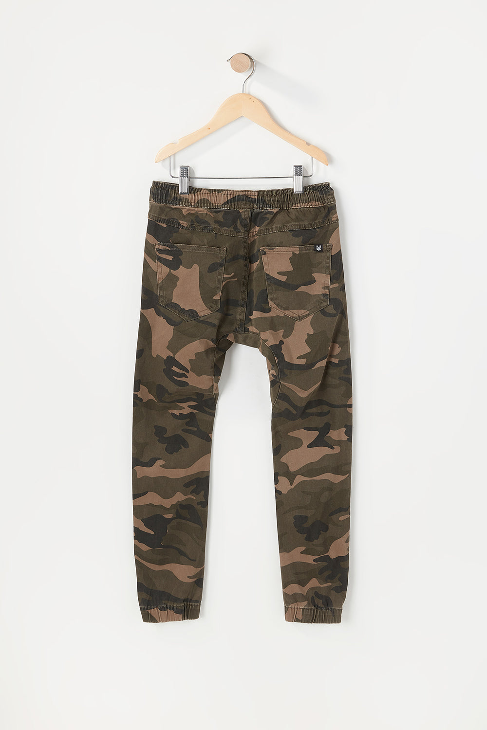 Zoo York Youth Twill 5-Pocket Camo Jogger Camouflage