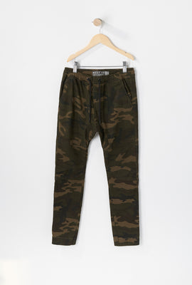 West49 Youth Camo Moto Jogger