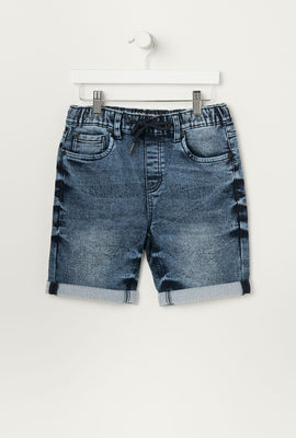 Eco-Friendly Zoo York Youth Denim Jogger Shorts