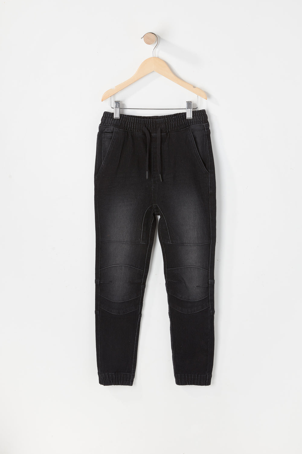 Jogger Jean Moto Zoo York Junior Noir