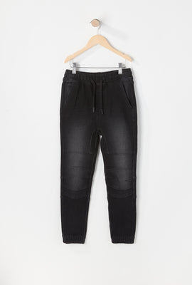 Zoo York Youth Denim Moto Jogger