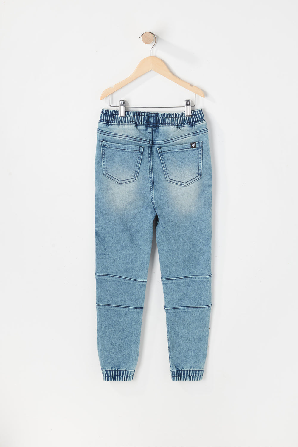 Jogger Jean Moto Zoo York Junior Bleu denim pale