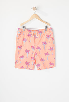 Zoo York Boys Tropical Print Easy Short