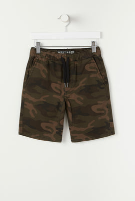 West49 Youth Camo Street Short