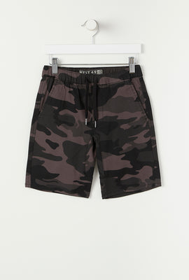 Short Jogger Camouflage West49 Junior