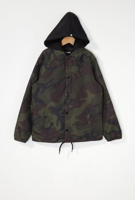 Zoo York Boys Snap-Button Hooded Jacket