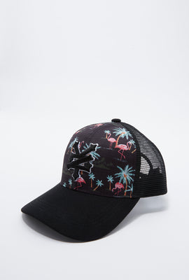 Zoo York Boys Flamingo Trucker Hat
