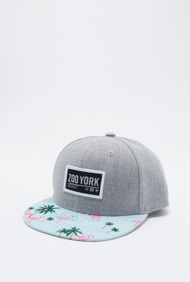 Zoo York Boys Flamingo Print Hat