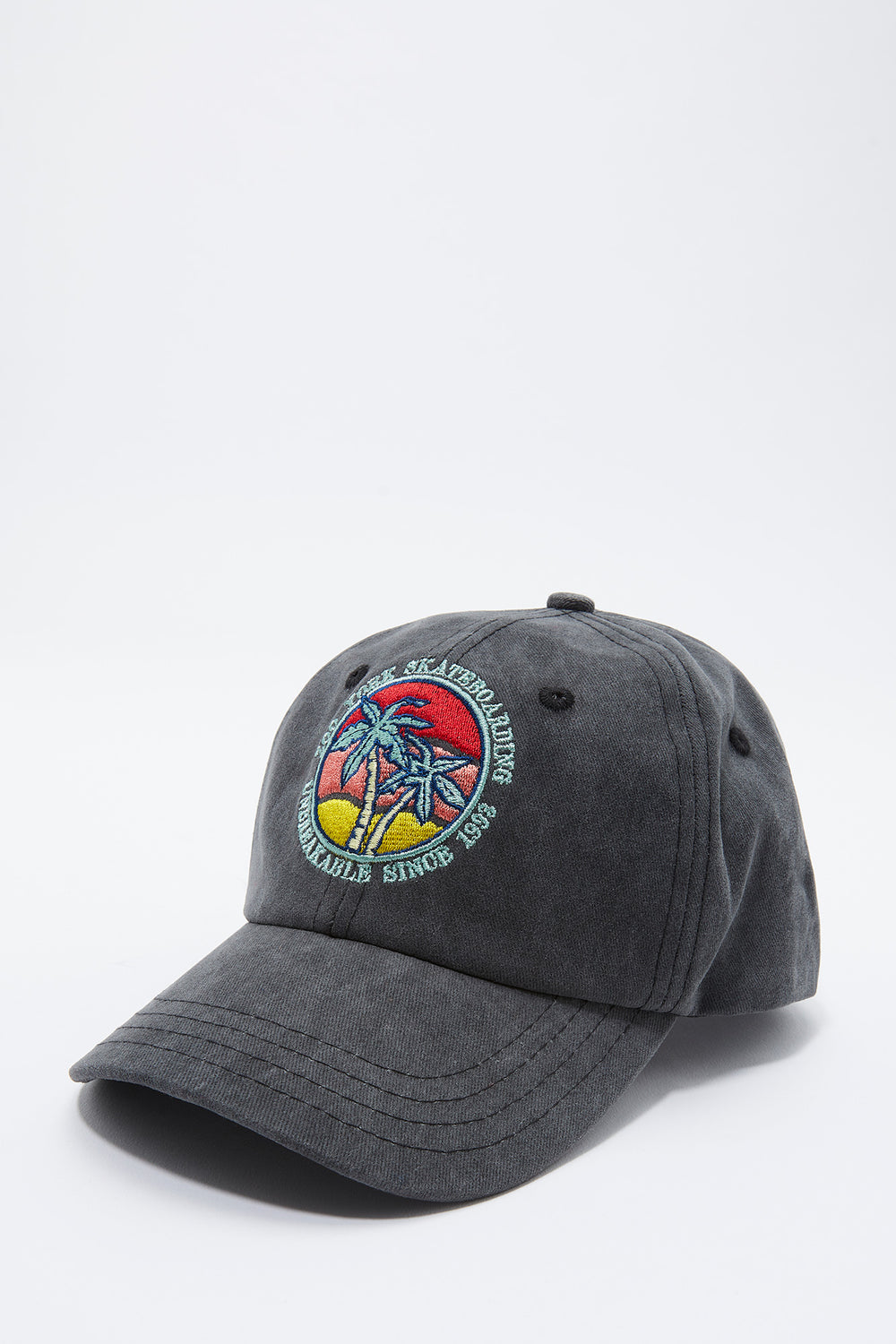 Zoo York Youth Sunset Logo Hat Charcoal