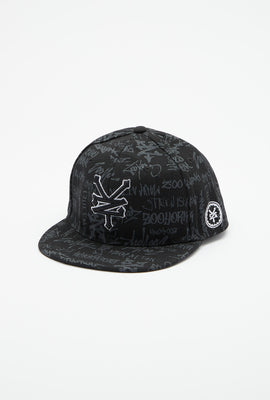 Zoo York Youth All Over Graffiti Print Hat