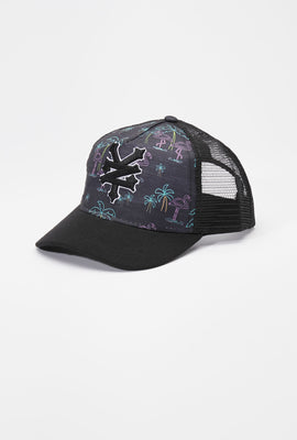 Casquette Flamants Néon Trucker Zoo York Junior