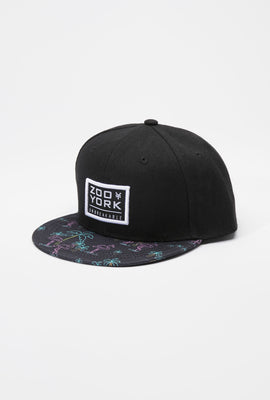 Zoo York Youth Neon Flamingo Snapback Hat