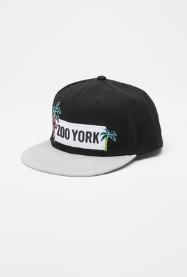 Zoo York Youth Neon Flamingo Patch Logo Hat