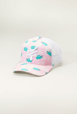 Zoo York Youth Graphic Print Trucker Hat