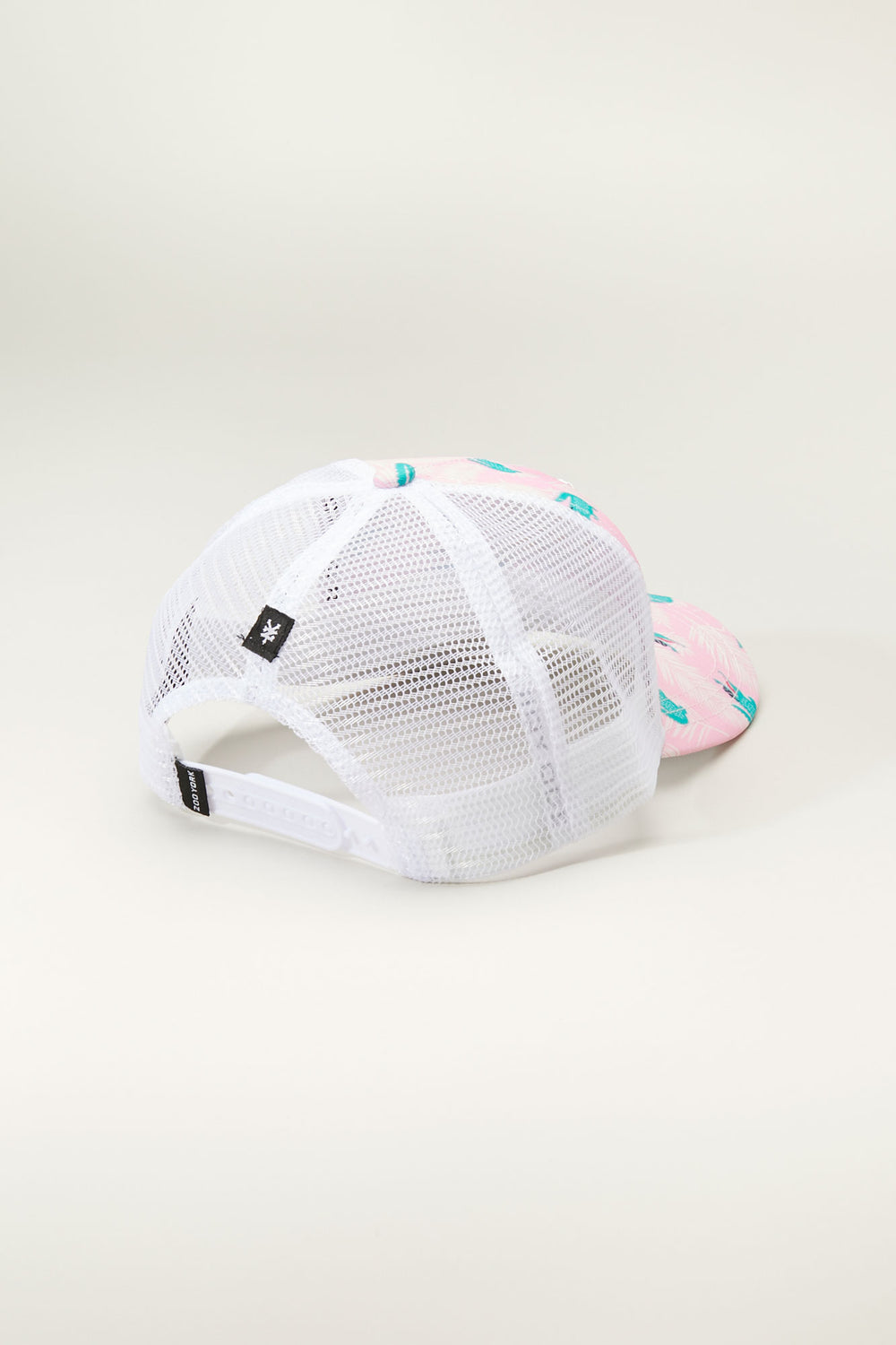 Casquette Imprimé Trucker Zoo York Junior Rose