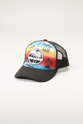 West49 Youth Graphic Print Trucker Hat