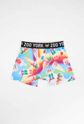 Zoo York Boys Rainbow Ice Cream Boxer Brief