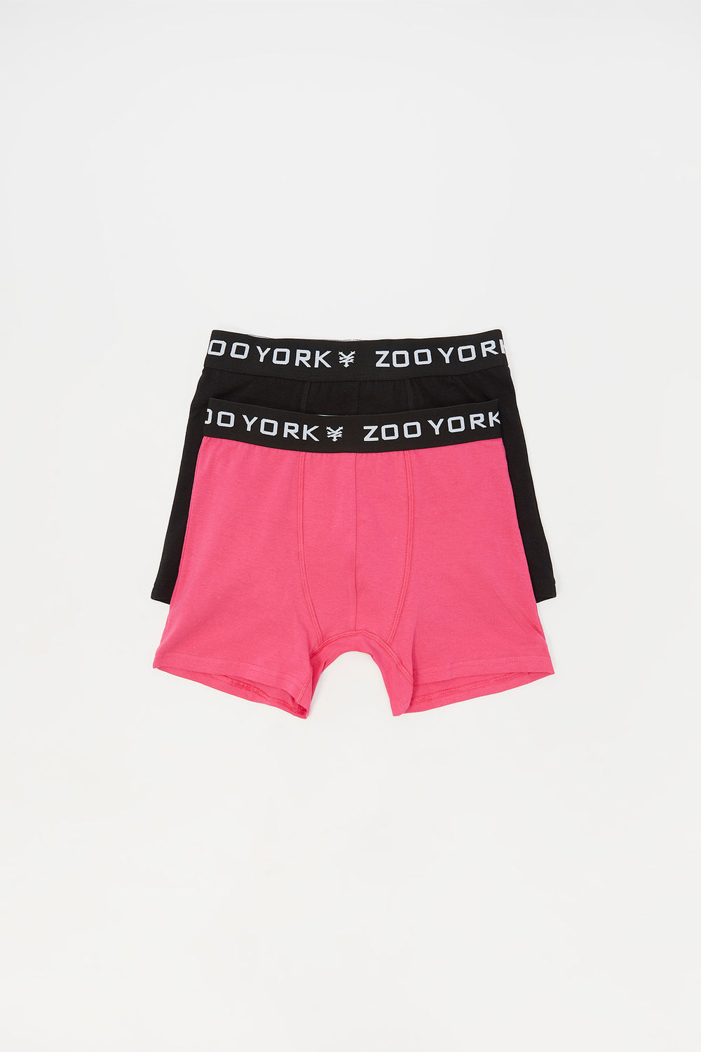 2 Paires de Boxer En Coton Zoo York Junior Rose