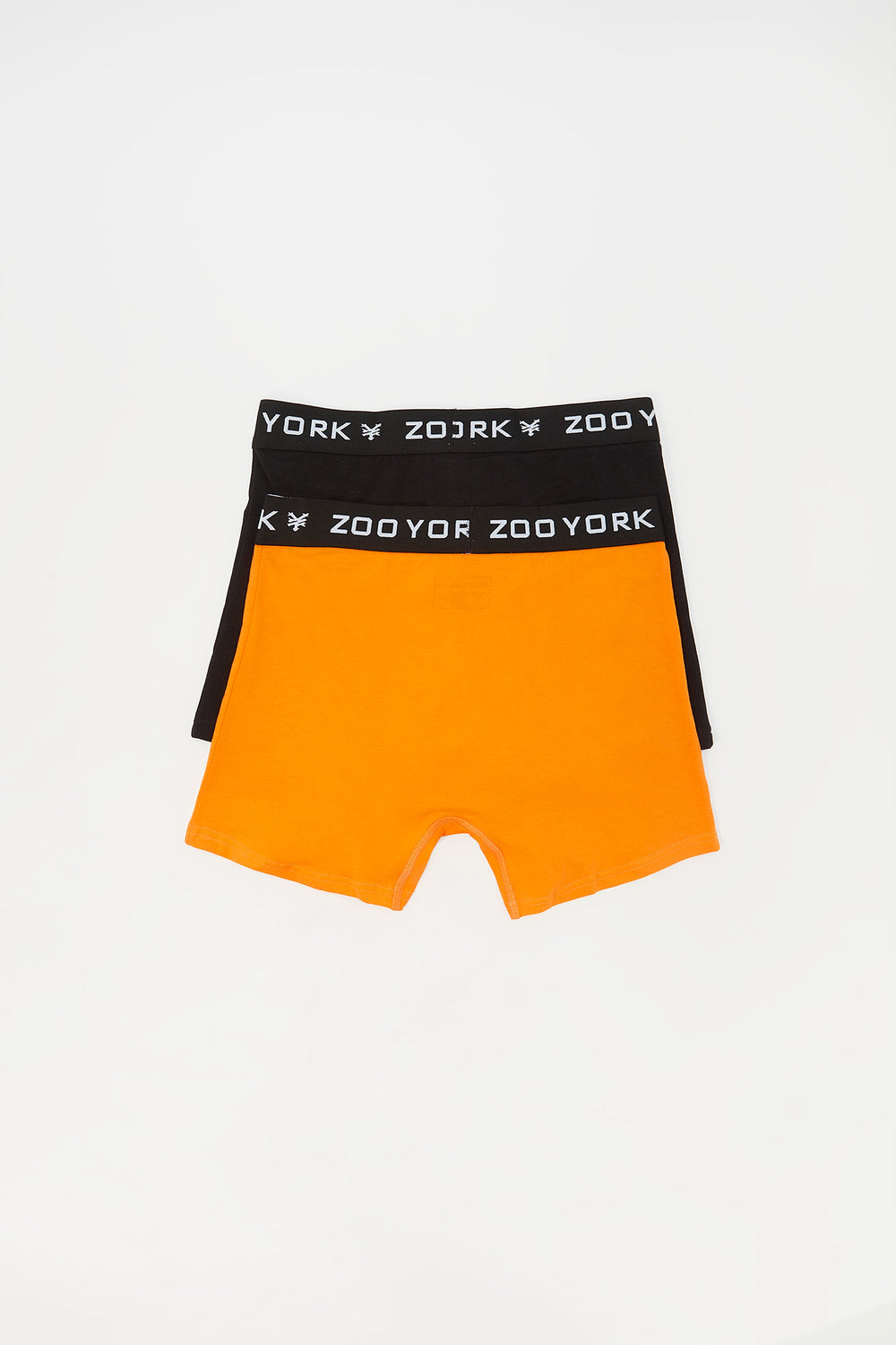 2 Paires de Boxer En Coton Zoo York Junior Orange
