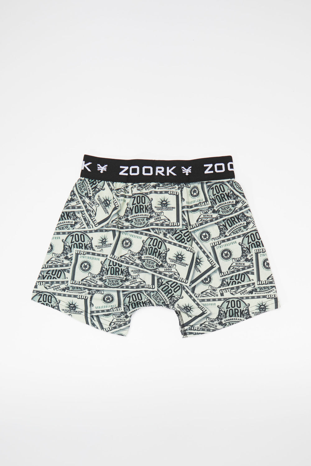 Boxer Billets Zoo York Junior Vert