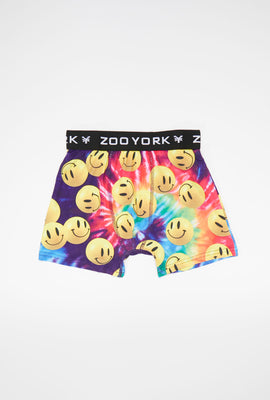 Boxer Tie-Dye Smiley Zoo York Junior
