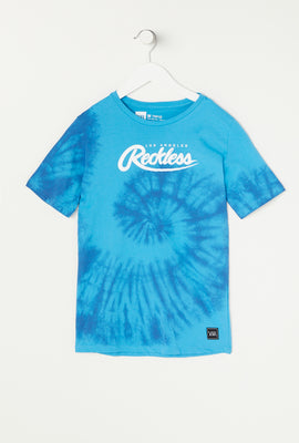 T-Shirt Tie Dye Young & Reckless Junior