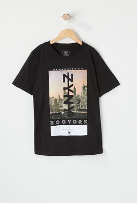 Zoo York Boys NYC Cityscape T-Shirt