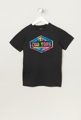 T-Shirt Junior Logo Zoo York Multicouleur
