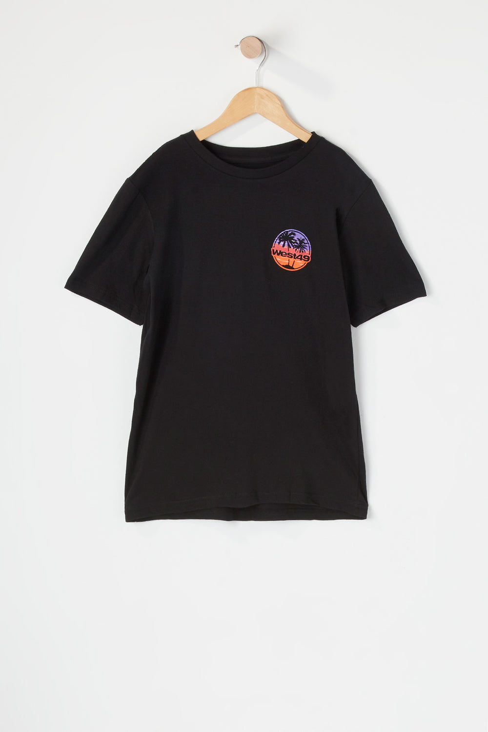 West49 Youth Sunset T-Shirt Black