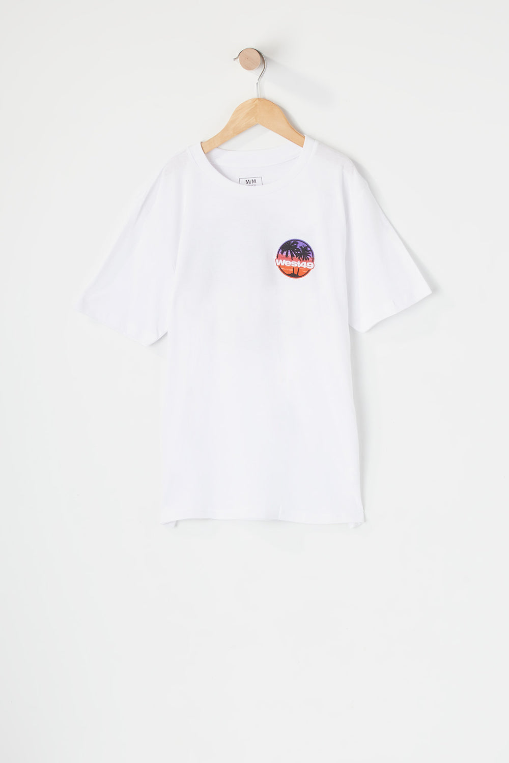 West49 Youth Sunset T-Shirt White