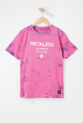 Young & Reckless Boys LA Tie-Dye T-Shirt