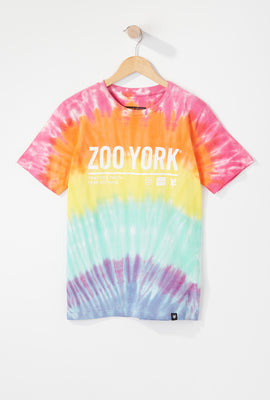 Zoo York Boys Rainbow Tie-Dye T-Shirt