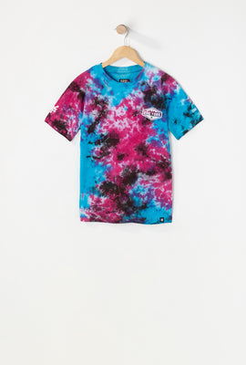 Manches Longues Tie Dye Zoo York Junior