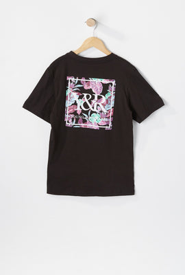 Young & Reckless Youth Neon Leaves T-Shirt