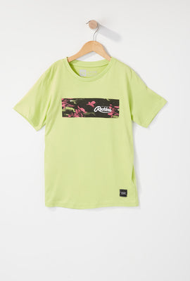 Young & Reckless Boys Neon Floral T-Shirt