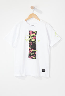 Young & Reckless Boys Electric Floral T-Shirt
