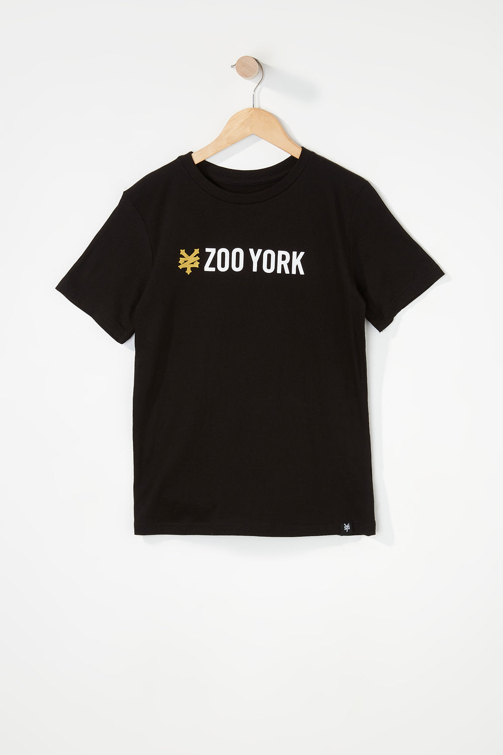 Zoo York Boys Classic Logo T-Shirt Black