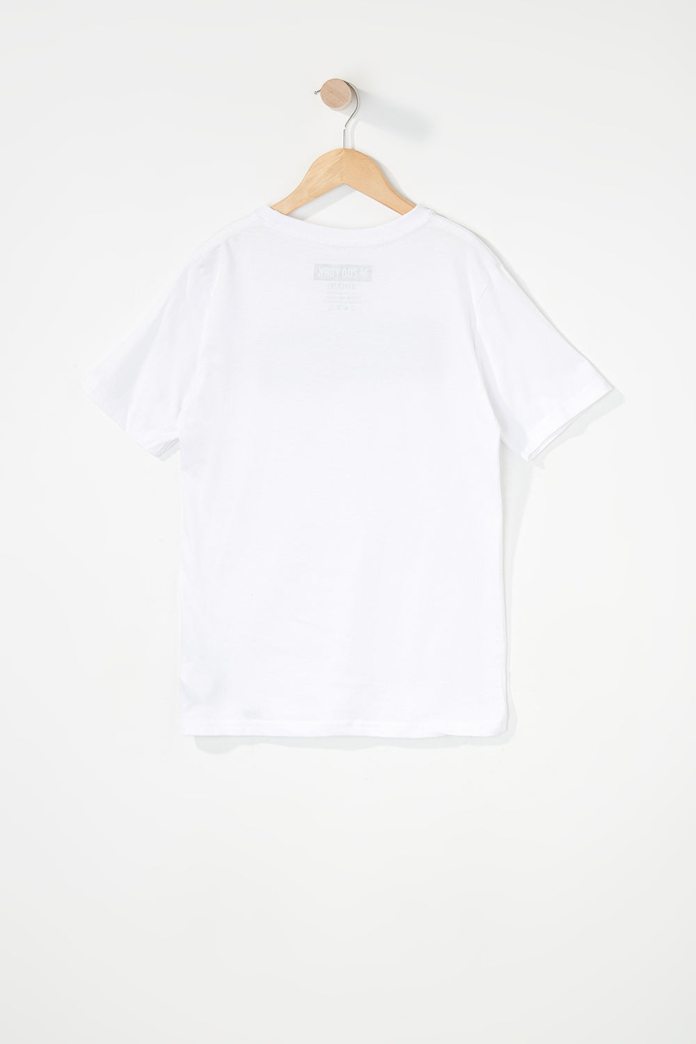 Zoo York Boys Classic Logo T-Shirt White
