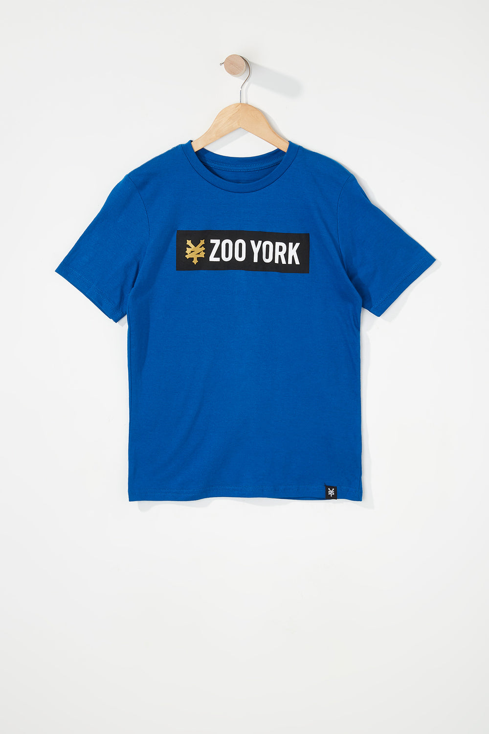 Zoo York Boys Classic Logo T-Shirt Blue