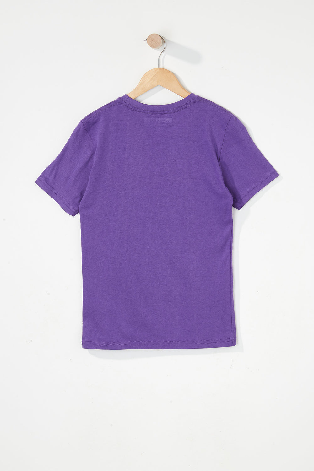 Zoo York Boys Classic Logo T-Shirt Purple