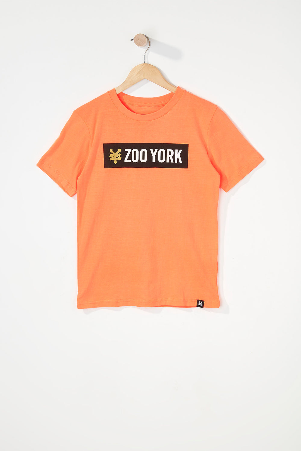 Zoo York Boys Classic Logo T-Shirt Orange