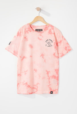 Zoo York Boys Flamingo Tie-Dye T-Shirt