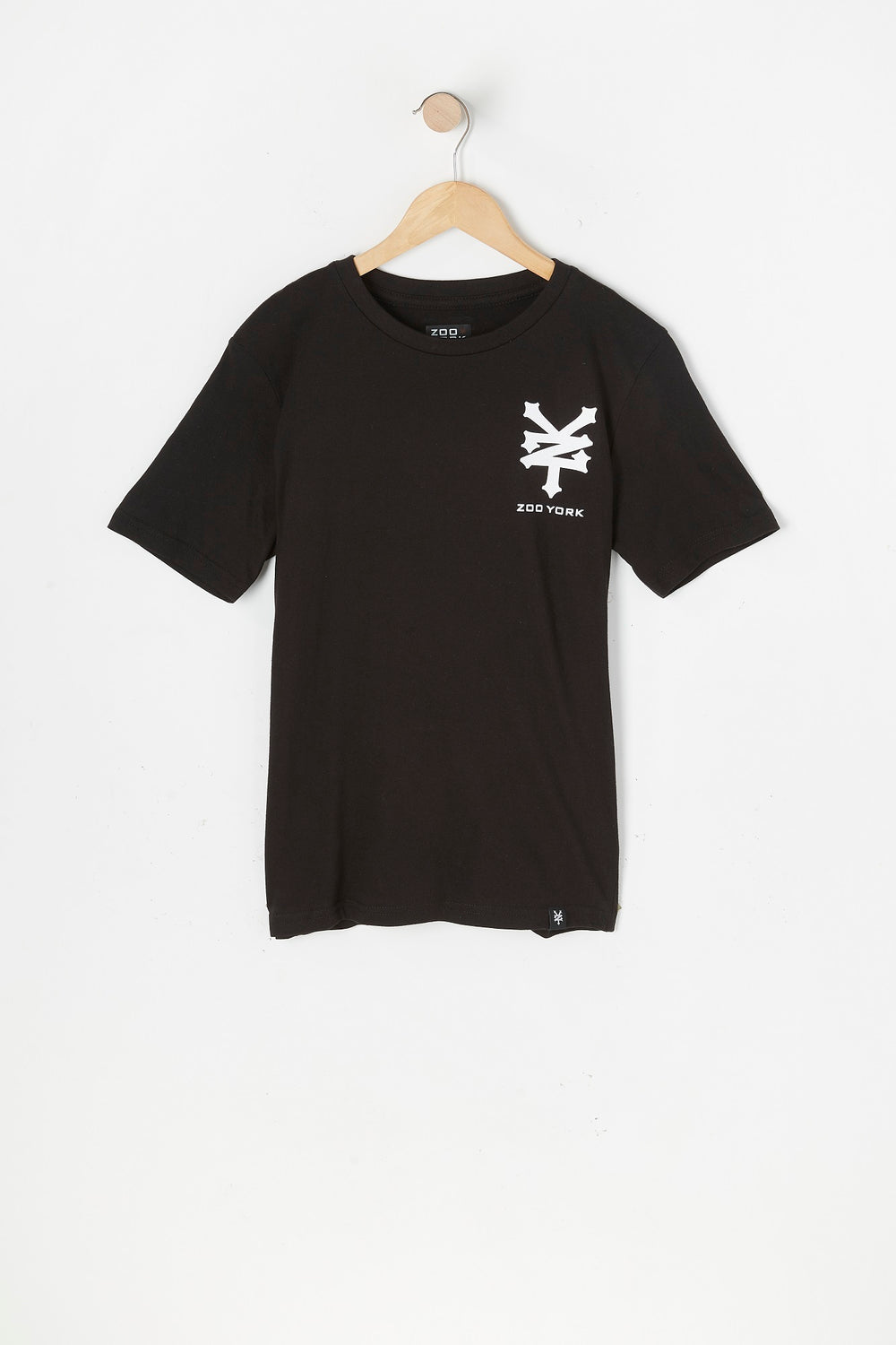 T-Shirt Logos Variés Zoo York Junior Noir