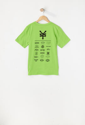 T-Shirt Logos Variés Zoo York Junior