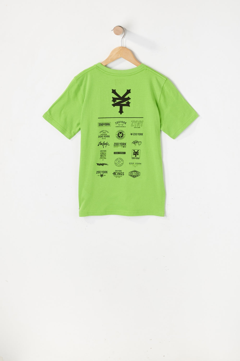 T-Shirt Logos Variés Zoo York Junior Vert