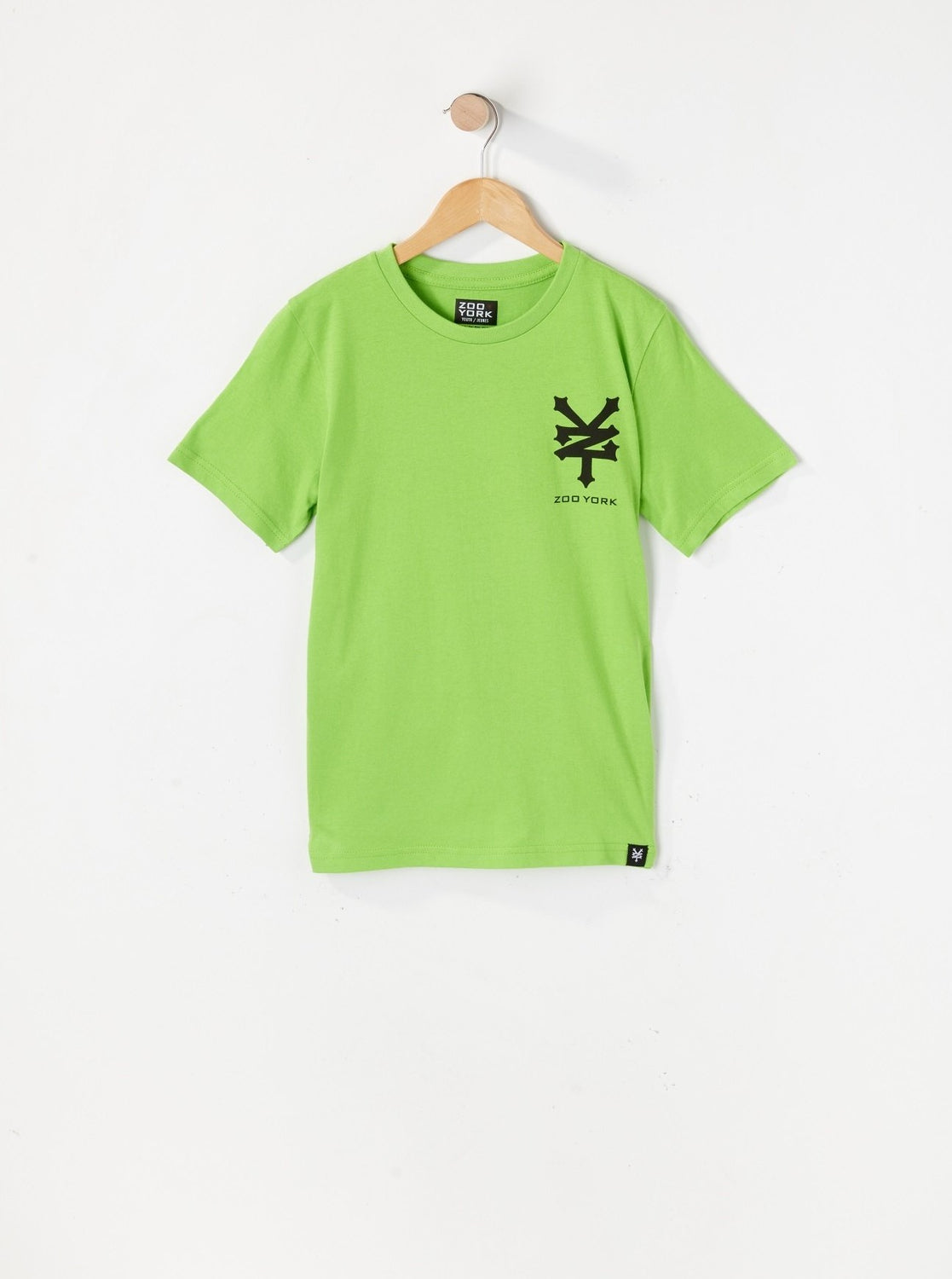 Zoo York Youth Logos T-Shirt Green