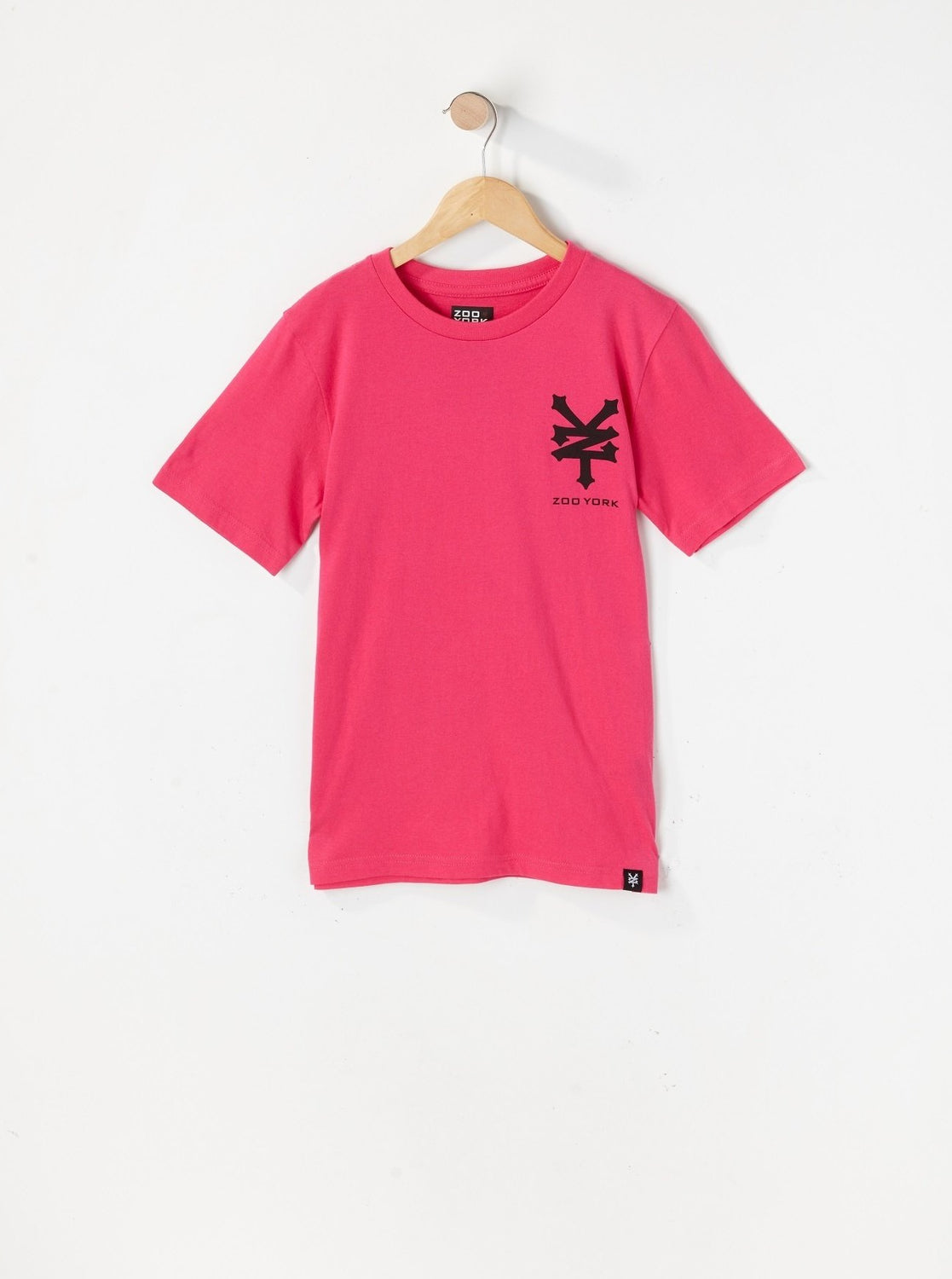 Zoo York Youth Logos T-Shirt Magenta